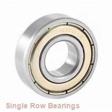 EBC 1607 ZZ  Single Row Ball Bearings
