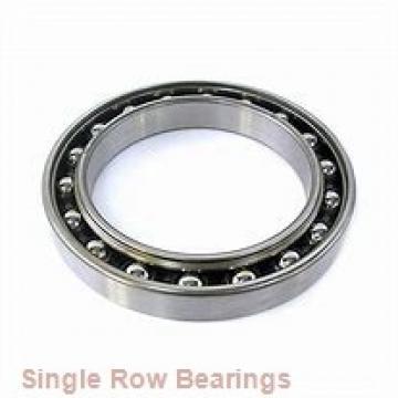 EBC 1638 ZZ  Single Row Ball Bearings