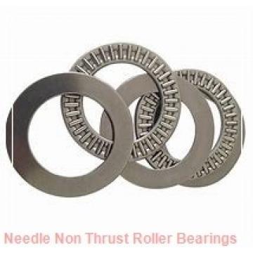 0.156 Inch | 3.962 Millimeter x 0.281 Inch | 7.137 Millimeter x 0.25 Inch | 6.35 Millimeter  KOYO B-2 1/2 4 PDL125  Needle Non Thrust Roller Bearings