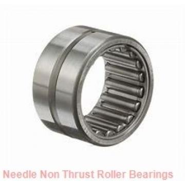 1.75 Inch | 44.45 Millimeter x 2.125 Inch | 53.975 Millimeter x 0.75 Inch | 19.05 Millimeter  KOYO B-2812;PDL125  Needle Non Thrust Roller Bearings