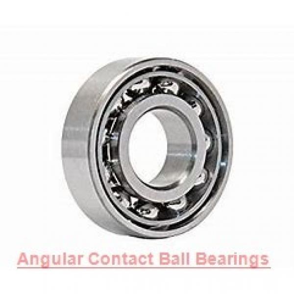 20 mm x 47 mm x 20.6 mm  SKF 3204 A-2RS1TN9/MT33  Angular Contact Ball Bearings #1 image