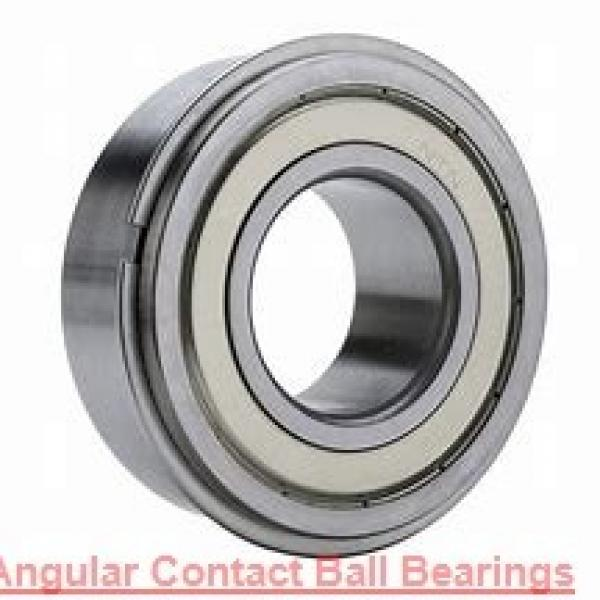 40 mm x 80 mm x 18 mm  SKF 7208 BECBJ  Angular Contact Ball Bearings #1 image