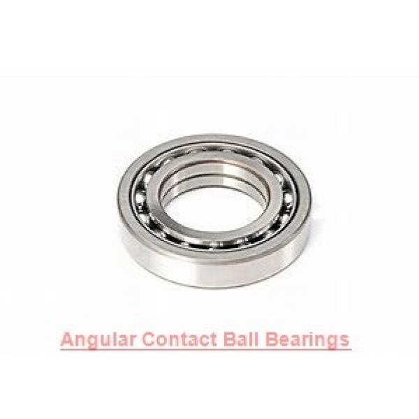 55 mm x 100 mm x 21 mm  SKF 7211 BE-2RZP  Angular Contact Ball Bearings #1 image