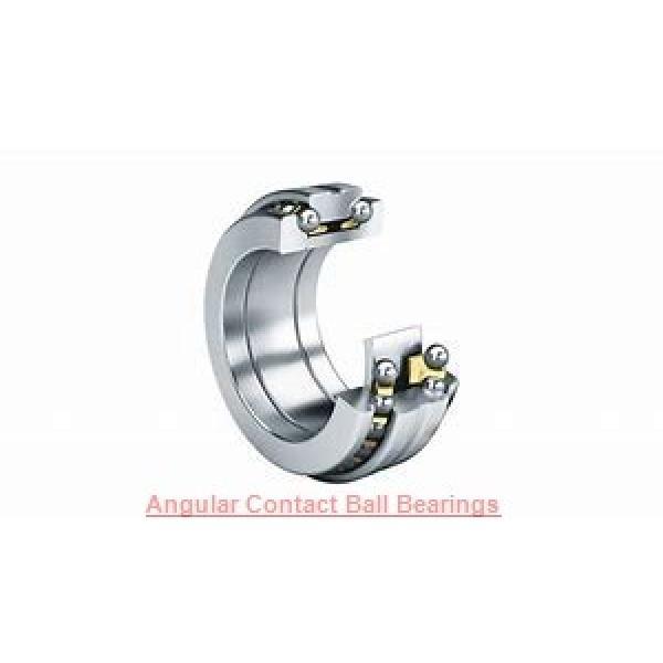 20 mm x 47 mm x 20.6 mm  SKF 3204 ATN9  Angular Contact Ball Bearings #1 image