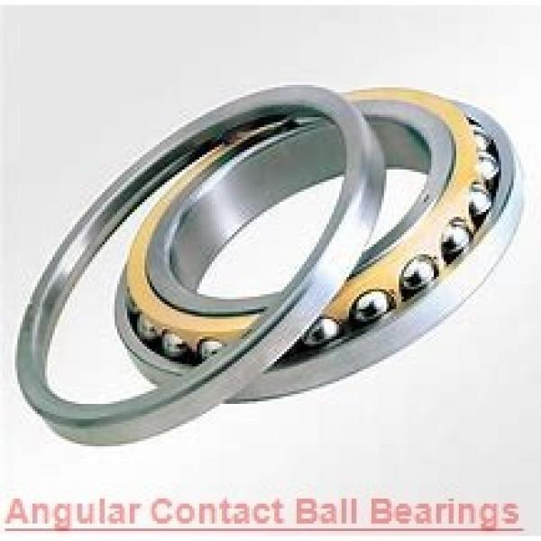 0.984 Inch   25 Millimeter x 2.047 Inch   52 Millimeter x 0.811 Inch   20.6 Millimeter  KOYO 52052RS  Angular Contact Ball Bearings #1 image