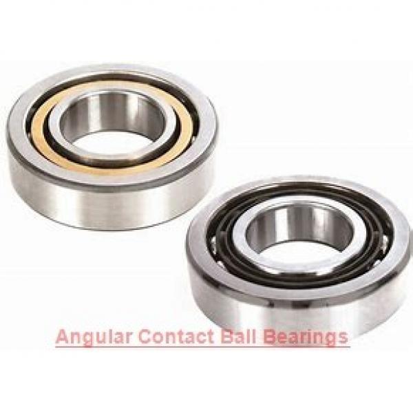 30 mm x 72 mm x 19 mm  FAG 7306-B-2RS-TVP  Angular Contact Ball Bearings #1 image